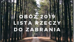 obóz 2019
