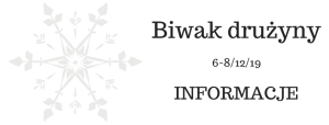 biwak drużyny informacje
